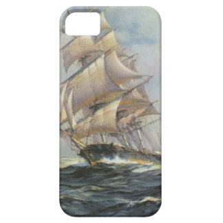 Ancient Sailing Ship Case For The iPhone 5