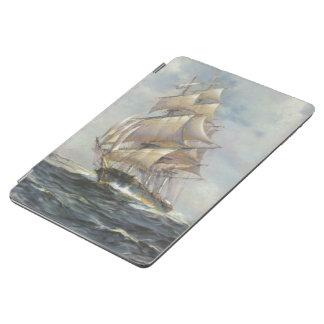 Ancient Sailing Ship iPad Air Cover