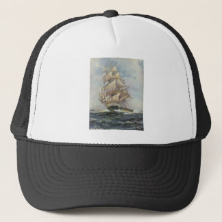 Ancient Sailing Ship Trucker Hat