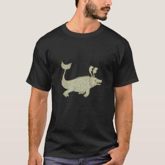 Ancient Sea Monster Drawing T-Shirt