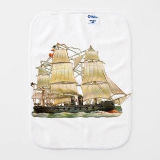Ancient Ship Burp Cloth