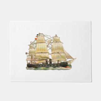Ancient Ship Doormat