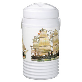 Ancient Ship Drinks Cooler