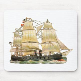 Ancient Ship Mouse Pad