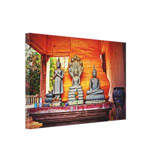 Ancient Shrine Canvas Print