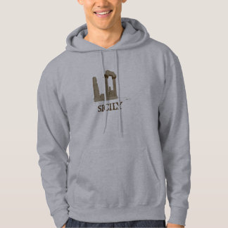 Ancient Sicily Agrigento Ruins Hoodie