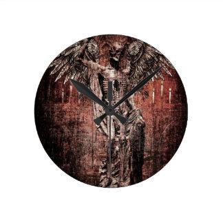 Ancient Skull Wing Dead Zombie Clocks