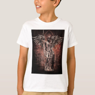 Ancient Skull Wing Dead Zombie T-Shirt