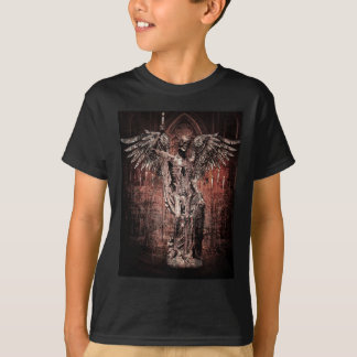 Ancient Skull Wing Dead Zombie T-shirts