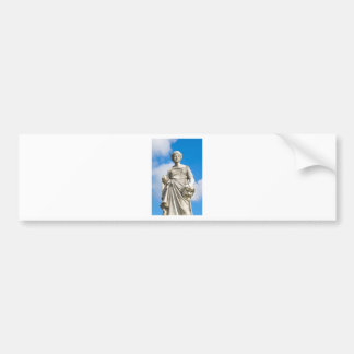 Ancient statue bumper sticker