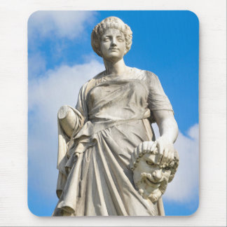 Ancient statue mouse pad