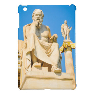 Ancient statue of philosopher in Athens, Greece Cover For The iPad Mini
