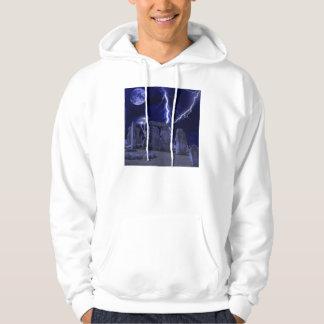 ancient stone landscape hoodie