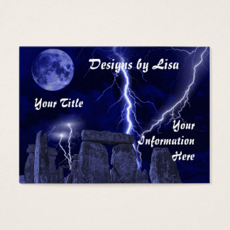 Ancient stone landscape profile/business card