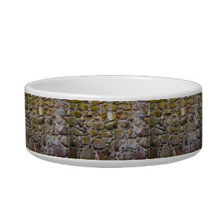 Ancient stone wall bowl