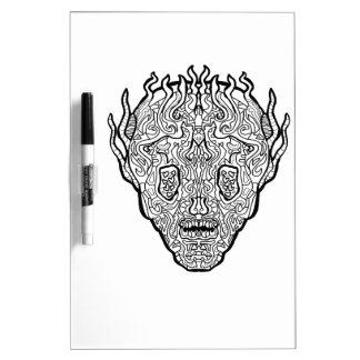 Ancient Sugar Skull Dry-Erase Whiteboard