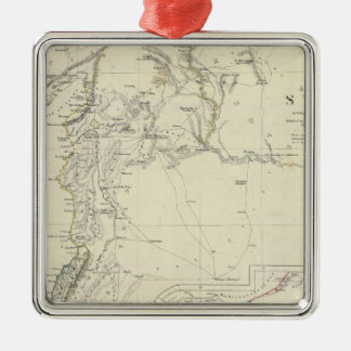 Ancient Syria to Sinai Silver-Colored Square Ornament