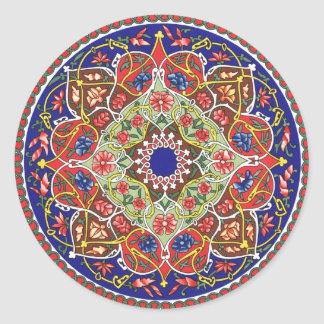 Ancient Tadjik Design Sticker