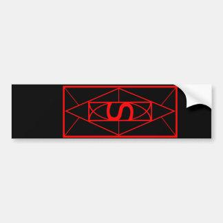 Ancient 'Time' Sigil Bumper Sticker
