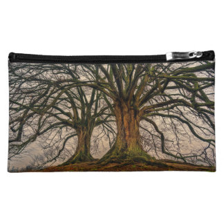 Ancient trees spooky forest makeup bag