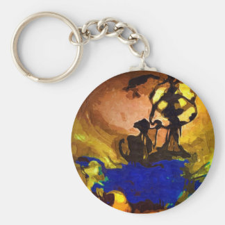 ancient tribe keychain