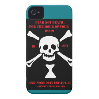 Ancient Viking Prayer...Fear Not Death Case-Mate iPhone 4 Case