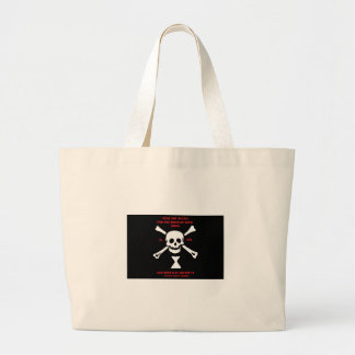 Ancient Viking Prayer...Fear Not Death Large Tote Bag