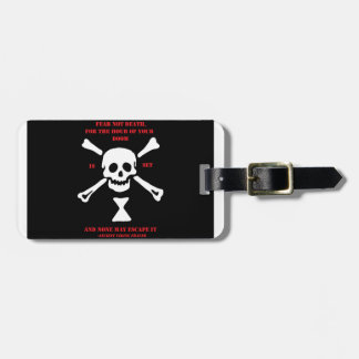 Ancient Viking Prayer...Fear Not Death Luggage Tag