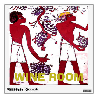 Ancient Vineyard, Wine Tasting Room, change text Wall Sticker