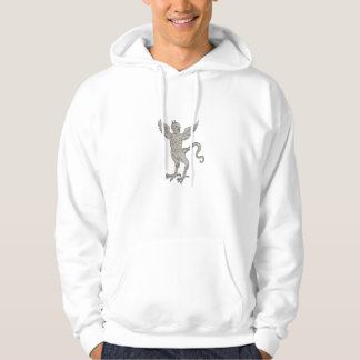Ancient Winged Monster Drawing Hoodie