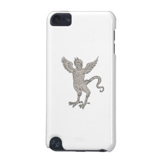Ancient Winged Monster Drawing iPod Touch (5th Generation) Covers