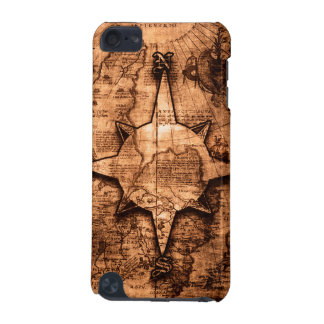 Ancient World Traveler - Map & Compass Rose iPod Touch 5G Covers
