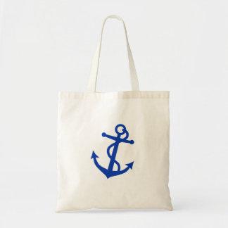 Ancre bleue sac en toile budget