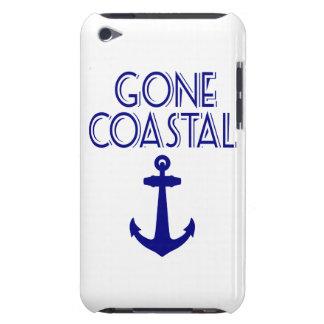 Ancre côtière allée de bleu marine coque Case-Mate iPod touch