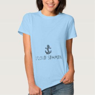 ancre-tatouage, J'AIME DES MARINS T Shirts