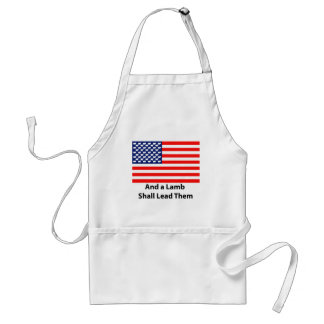 And A Lamb Shall Lead Them Aprons