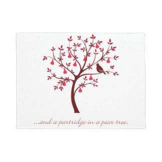 And a partridge in a pear tree doormat