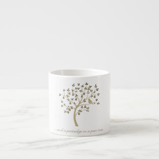And a partridge in a pear tree espresso cup