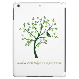 And a partridge in a pear tree iPad air cases