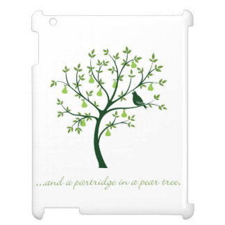 And a partridge in a pear tree iPad cases