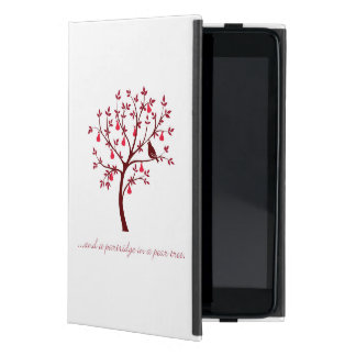 And a partridge in a pear tree iPad mini cover