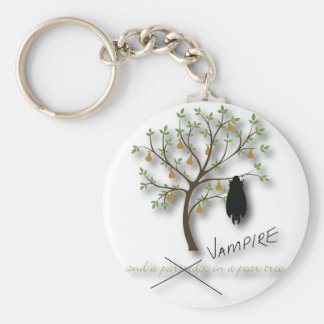 And a vampire in a pear tree key chains