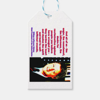 And All Of Us - Bill Clinton Gift Tags
