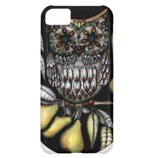 ... and an owl in a pear tree case for iPhone 5C