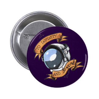 And Beyond 2 Inch Round Button