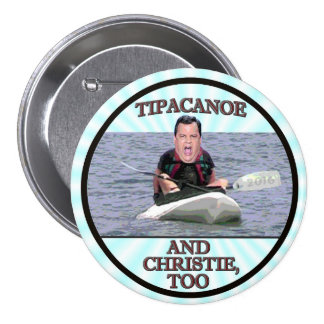 And Christie, too! 3 Inch Round Button