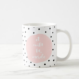 And here you have the shit typography coffee mug