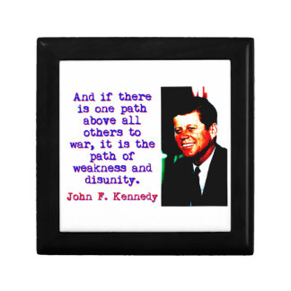 And If There Is One Path - John Kennedy Gift Box