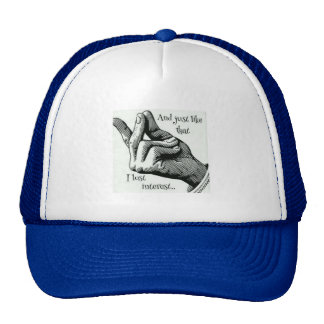 And Just Like That, I Lost Interest Truckers Hat