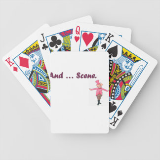 And ... Scene Bicycle Playing Cards